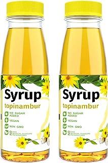 ISOP Sirop sans sucre ajouté édulcorant topinambour Paquet de 2 - Substitut de sucre sain 100% naturel - Sans sucre à faib...