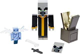 Minecraft Comic Maker Multipack Attack Set with Evoker and Vexes, Based on Minecraft Video Game, Toys for Girls and Boys Age 6 and Up