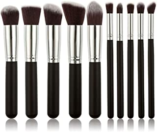 Zmond - 10 Piece Pce/Set Base Cosmetics Makeover Makeup Brushes Kit For Women Foundation Blending Blush Powder Eyeshadow T...