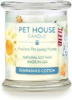 One Fur All 100% Natural Soy Wax Candle, 20 Fragrances – Pet Odor Eliminator, Appx..