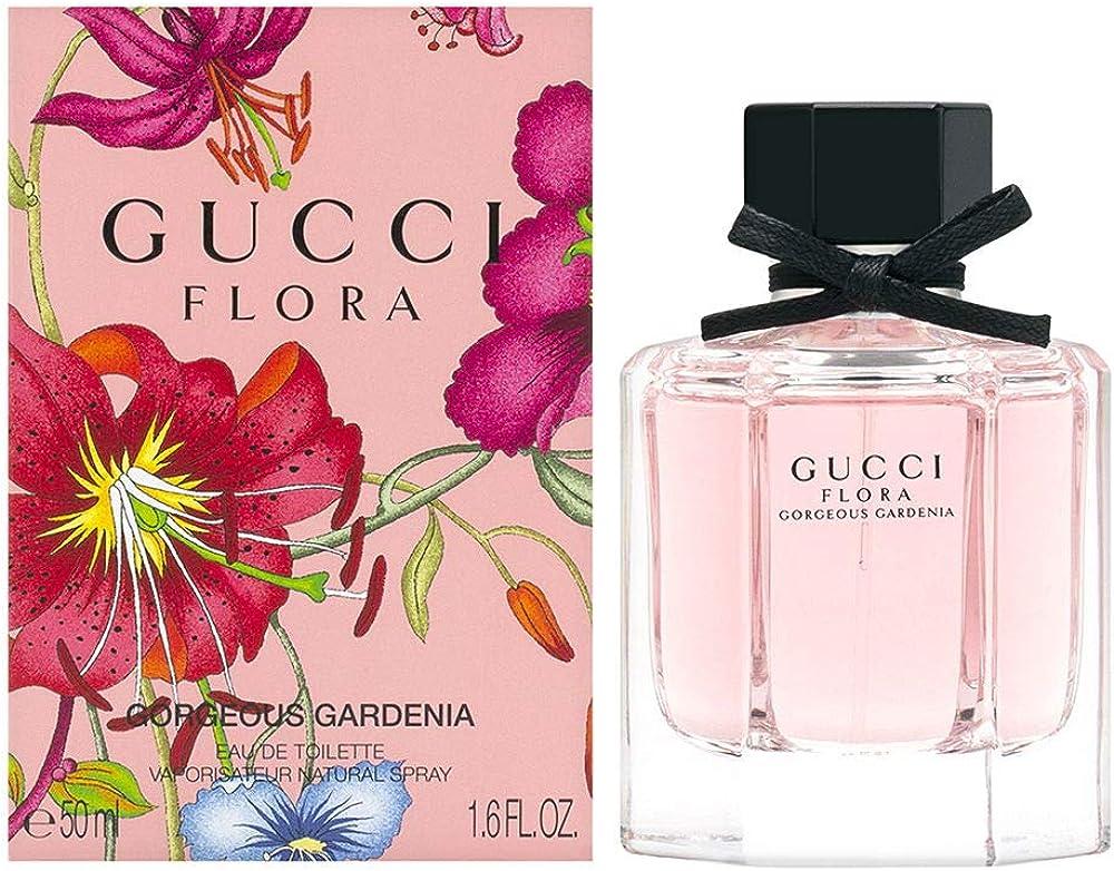 Gucci flora gorg gardenia,eau de toilette da donna,50 ml 0737052522456