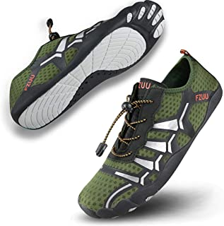 DUORO Men's Minimalist Trail Runner Water Shoes Barefoot Shoes Cross Training Shoes for Men Big Toe Box
