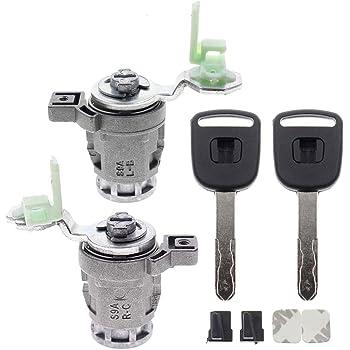 Amazon Com New Left Driver Side Door Lock Cylinder Keys Set For Honda Accord Ex Exs Lx Lxs 2 4l 3 0l 72181 Sda A11 Automotive
