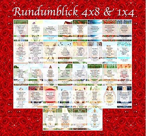 Legeschablone Rundumblick 4x8 u. 1x4