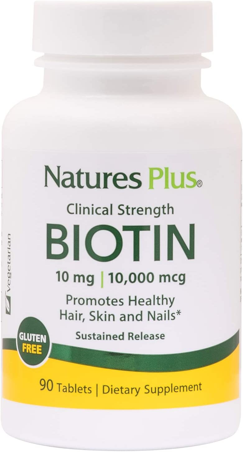 NaturesPlus Clinical Strength Biotin Sustained Release mg - 10 Limited time Fashionable cheap sale