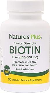 Natures Plus - Biotin 10 Mg. 90 Tablets 164605