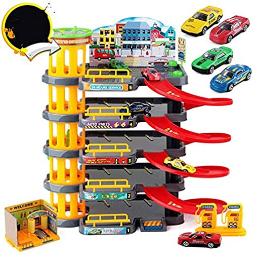 Little Toys Kinderparkplatz Spielzeug Jungen und mädchen Baby Intellektuelle Kraft Aufkl ng Simulation Szene BAU Bildung Kinderspielzeug (Größe   B)