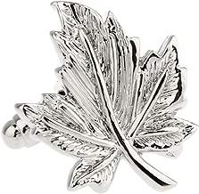 Maple Leaf Leaves Pair Cufflinks