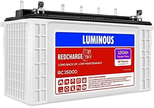 Luminous RC 15000Tubular 120AH Battery