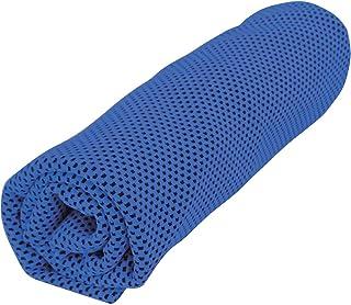 トレードワン 冷却タオル セルフクーリングタオル ブルー 100×20cm 30528
