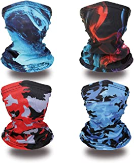Kids Neck Gaiters Face Cover Balaclava Bandanas Face...