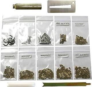 Kwikset 50 Each Bottom Pins with Pin Cover Spring Plug Clip Tools Rekey Kit Rekeying Set Locksmith