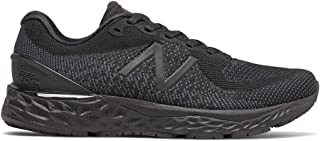 New Balance Fresh Foam Women's Running Shoes, Black with Black Caviar, 10 US
