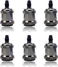 DiCUNO 6 Pack E27 Vintage Ampoule solide c/éramique douille Support de lampe Edison Vis Ampoule adaptateur Socket