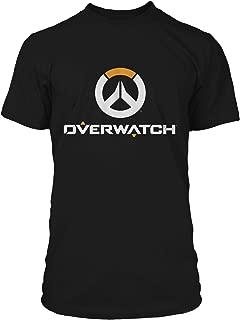 Overwatch Full Logo Men's Gamer Tee Shirt