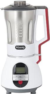 H.Koenig Soup Maker Blender Chauffant 1.7L MXC36 Bol Inox résistant Mixeur, 2 Programmes de cuisson Polyvalents Soupe/Glac...