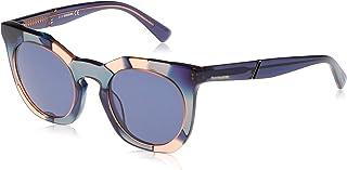 نظارات شمسية للنساء من ديزل DL027092V49 - ازرق/ ازرق - بلاستيك