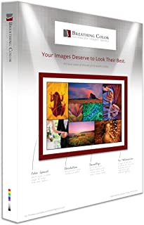 Chromata White Canvas Poly-Cotton Blend 13 in x 19 in, 25 Sheets for Photos & Digital Art Prints; 19 mil, 450 gsm Inkjet Material Does Not Need Optical Brighteners to Deliver Its Bright White Finish