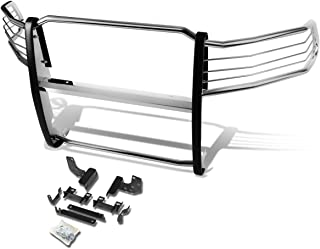 For Dodge Ram 1500 Pickup Front Bumper Protector Brush Grille Guard (Chrome)