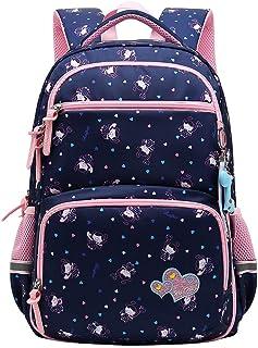 Happy Cherry - Mochila Escolar Niñas Infantiles Bolsa