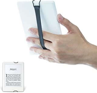 TFY Security Hand Strap Compatible with Kindle Voyage/Kindle Paperwhite/Kindle Fire 6Inch - Black (Two Pieces)