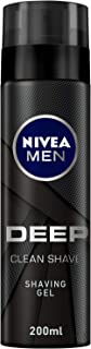 NIVEA MEN Deep Clean Shave, Black Charcoal - 200ml
