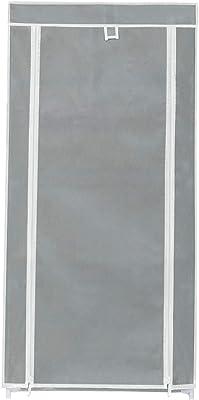 Happer Premium 7-Tiers Shoe Rack/Multipurpose Storage Rack with Dustproof Cover, (Grey)