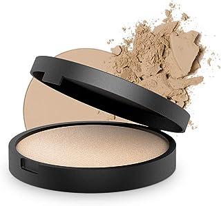 INIKA Baked Mineral Foundation Powder All Natural Make-up Base, Vegan, Hypoallergenic, Dermatologist Tested,Halal,8g (Unity)