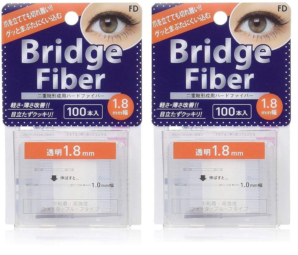 作り従者イチゴFD ブリッジファイバーII (眼瞼下垂防止テープ) 透明 1.8mm×2個セット