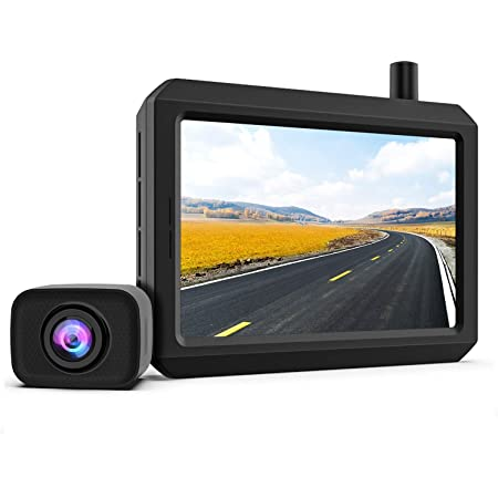 K7pro Digital Kabellos Rückfahrkamera Set Unterstützt 2 Elektronik