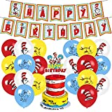 Dr Seuss birthday party supplies , thing 1...