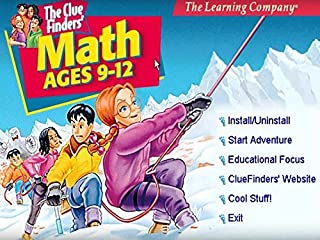 اسعار Cluefinders Math Adventures Ages 9-12 Deluxe