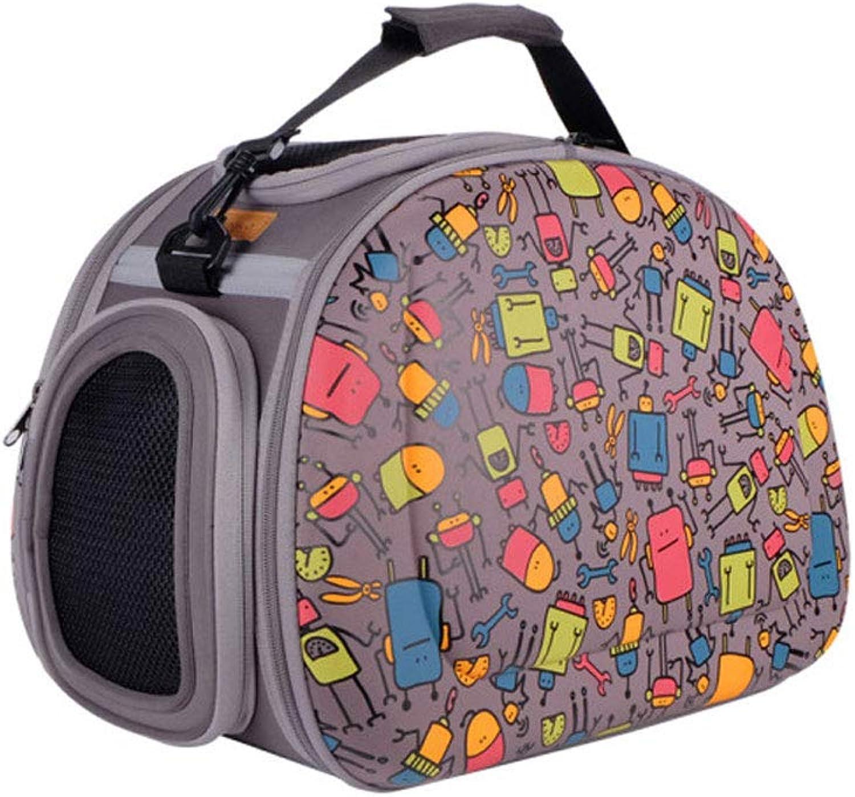 JIE KE Cat And Dog Special Pet Bag Folding Bag Backpack Bag Cat Bag Dog Air Bag