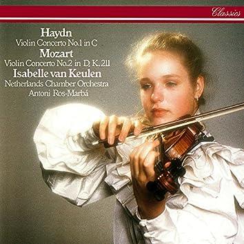 Haydn: Violin Concerto No. 1 / Mozart: Violin Concerto No. 2