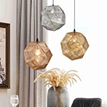 Simple Light and Shadow Multi-Sided Ball Metal Chandelier Restaurant Cafe Bar Club Woonkamer Verstelbare Kroonluchter (kle...
