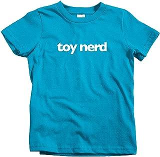 Smash Transit x Rotofugi Kids Toy Nerd T-Shirt - Turquoise, Youth X-Small