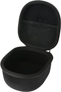 Khanka Hard Travel Case Replacement for Snug Safe n Sound Kids Adjustable Headband Ear Defenders Hearing Protectors Earmuffs Ear Muffs- Black