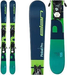 Elan Pinball Pro 7.5 Kids Skis with EL 7.5 GW Shift Bindings 2020-145cm