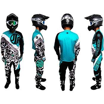 Medium Rouge Qtech Enfants Combinaison de Travail GO Kart Karting Motocross Tenue de Course BMX
