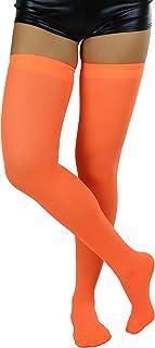 Women's Nylon Thigh High Schoolgirl Opaque Stockings