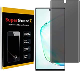 for Samsung Galaxy Note 10+ Plus Screen Protector [Privacy Anti-Spy], SuperGuardZ, Anti-Glare, Anti-Scratch [Lifetime Repl...