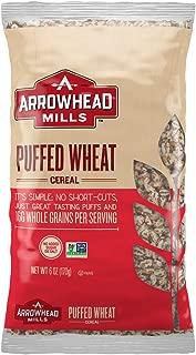 puffed whole grains