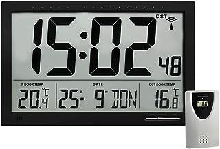 TFA Dostmann 60.4510.01 Wall Clock, Black