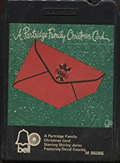 The Partridge Family: A Partridge Family Christmas Card 8 Track Tape