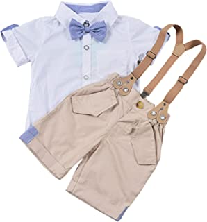 Baby Clothing Set Gentlemen Style 1-5T Boys Formal...