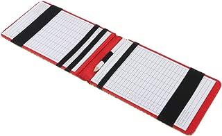 Injoyo Professional Golf Scorecard Holder Yardage Book Holder Tracking Card Holder for Men Men Golfer - 36.5 x 11cm - Choose Colors