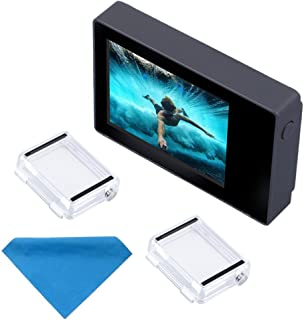 Suptig LCDスクリーン2.0インチLCD BacPac Gopro Hero 4用非タッチスクリーン3 + 3防水バックドア付き