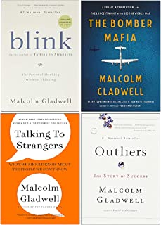 Malcolm Gladwell Collection 4 Books Set (The Bomber Mafia [Hardcover], Outliers The Story of Success, Blink, Talking to St...