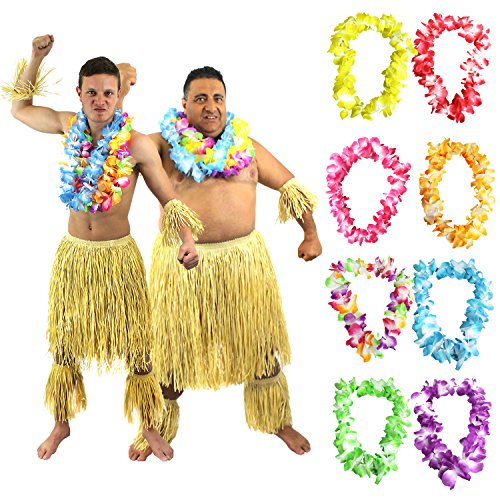 Disfraz de guerrero tribal zulú y dos tonos para hombre, ideal para fiestas de verano, Hawai, Luu, Hula