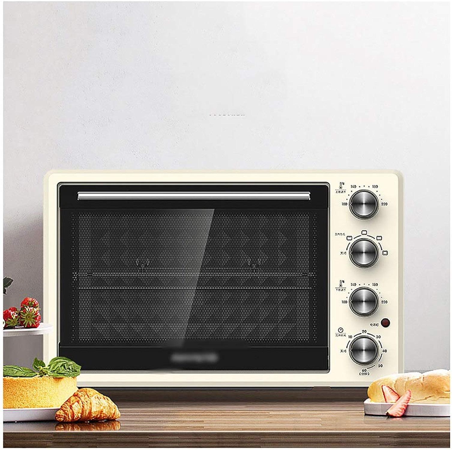 THOR-BEI Four et Grille électriques Ovens-32L 1500W, avec Fonctions de Cuisson Multiples, Contrôle de la température et minuterie réglables -19 Four